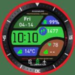 Sport_edgeFace Amazfit Pace/etc Watchface