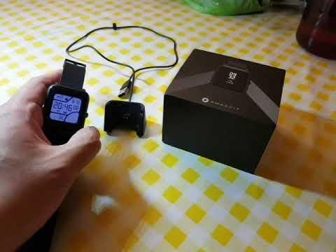 Amazfit Bip Smart Watch Inital Impressions Youtube