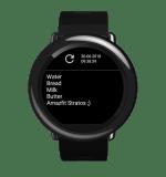 [APP] – AmazList – Simple ToDo/Notes application | Amazfit Pace