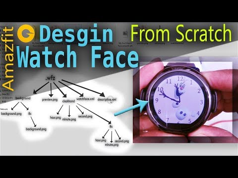 Amazfit How To Design Watch Face From Scratch Design