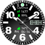 Optimus Plus 3 Watchface