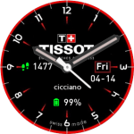 Tissot2GC for Amazfit Pace Watch