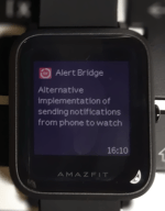 Alert Bridge for Amazafit Bip – an Alternative to MiFit