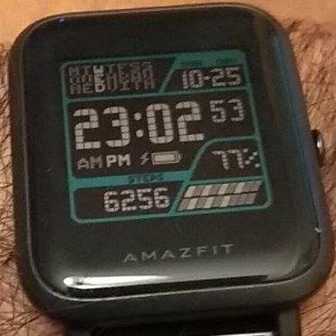 Amazfit Bip Watchface Reference including some JSON docs - Amazfit
