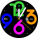 Amazfit Watchface Pace – Big Neon Digits