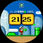 Super-Mario – Amazfit Verge Watch faces