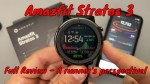 Amazfit Stratos 3 | Full Review | A runner's perspective!