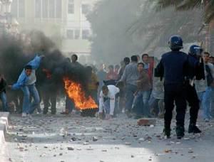 amazigh emeute algerie 300x228 Emeutes à Béjaïa, Ain Defla et Bouira ça continue … [Vidéo]