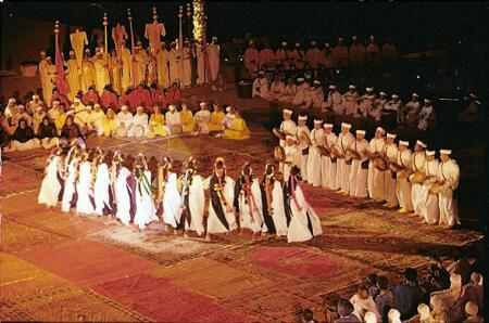 ahidous ahwach ait atta Ahidous : une tradition musicale amazigh  des Ait atta