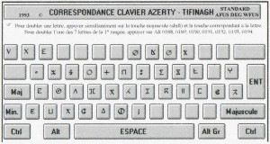 tifinagh clavier
