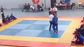 Champion d'Algérie combat 2017 du VO Vietnam club I°R°B°A°E°H Amazigh Nait Belaid