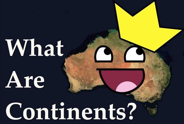 pulau vs benua