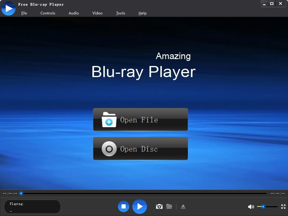 free blu ray player