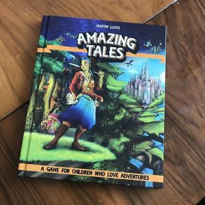 Picture of the Amazing Tales hardback book