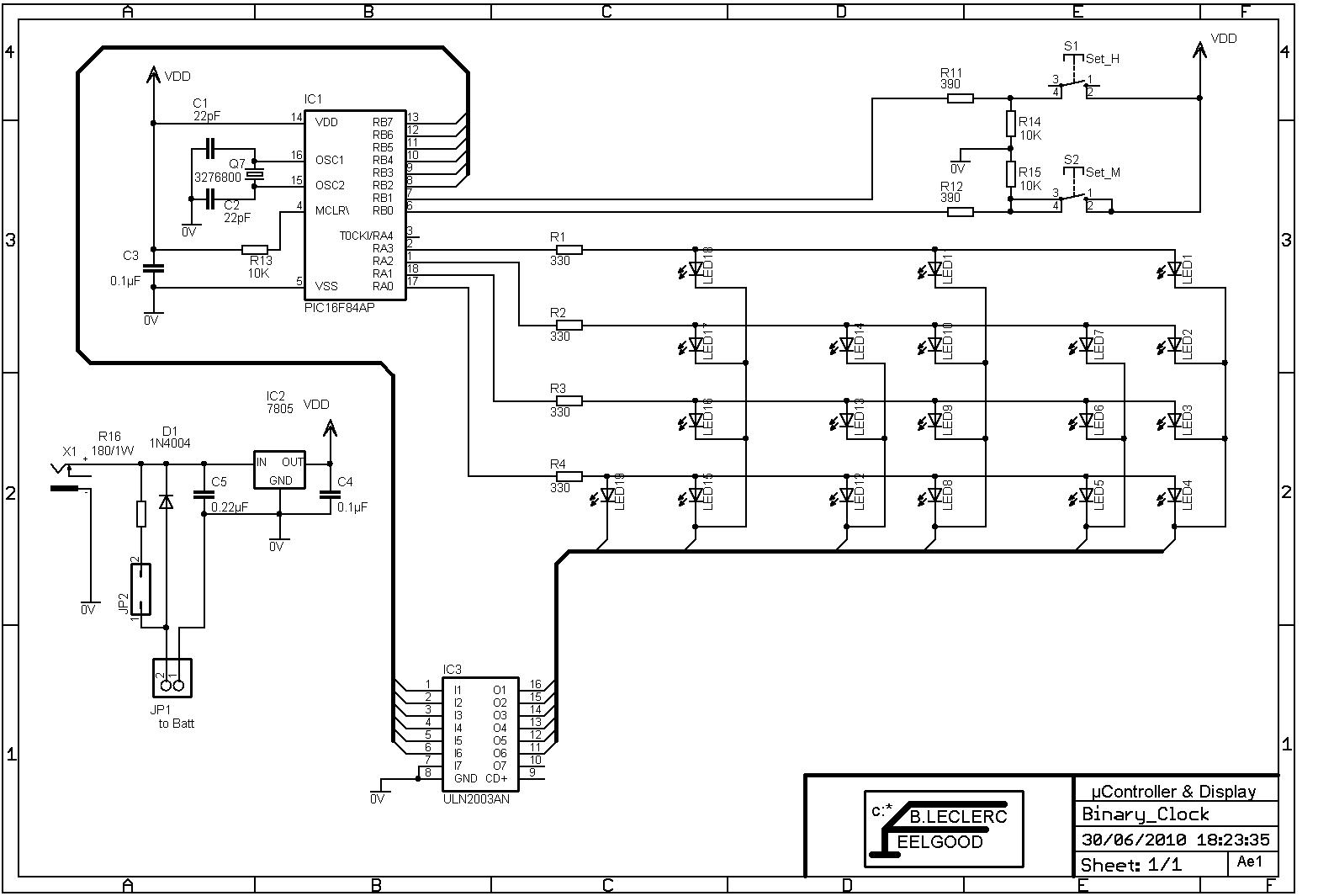 Vacuum Tube Clock | Wiring Diagram Database