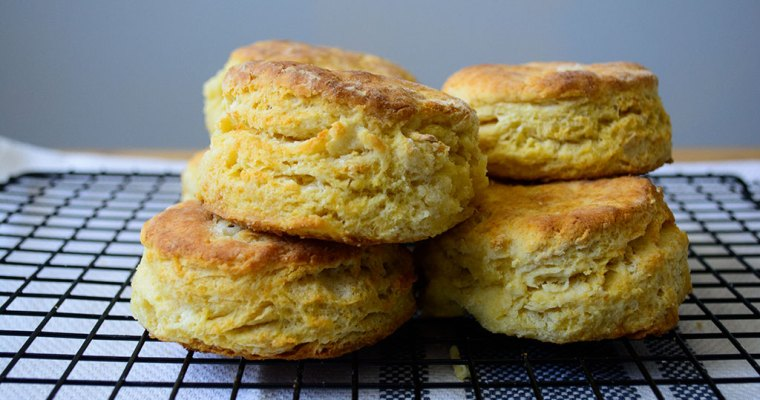 Fluffy Ackee Biscuits