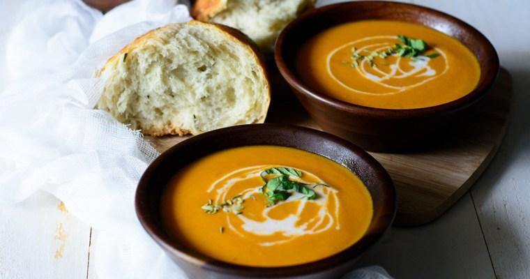 Ackee Tomato Soup {Vegan}
