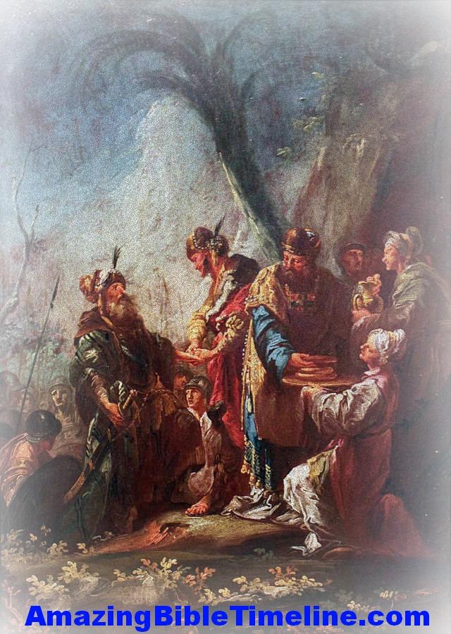 Melchizedek and Shem - Amazing Bible Timeline with World History