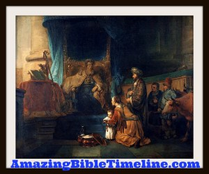 Samuel The Old Testament Prophet - Amazing Bible Timeline with World