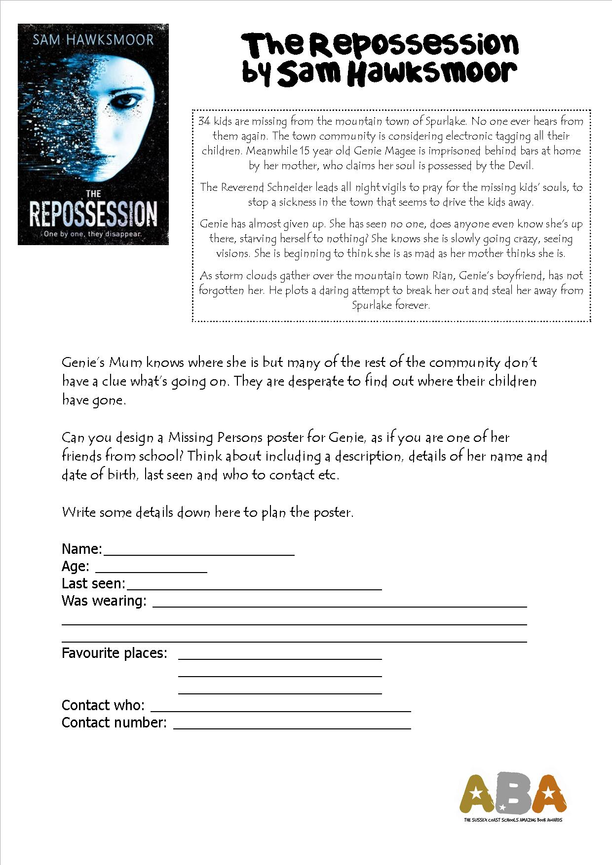 Wonderful Worksheets Amazing Book Awards