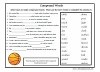 Communication Arts - Grammar - Compound Words - Common ...