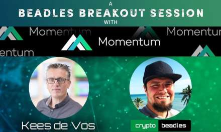 NEW Crypto ICO Momentum Token (MMTM) interview with CEO Kees de Vos