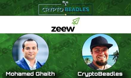 Zeew drones powered by blockchain (Crypto)