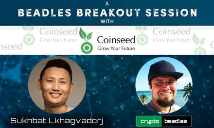Global Launch (CSD)ICO Coinseed Co-Founder Sukhbat A Beadles Breakout Session