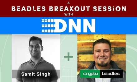 MSM lookout ICO DNN CEO Samit Singh tells his vision A Beadles Breakout Session