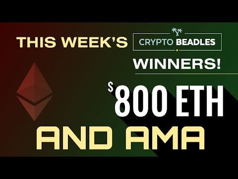 Live $800 #Crypto Giveaways,  Blockchain AMA and more!