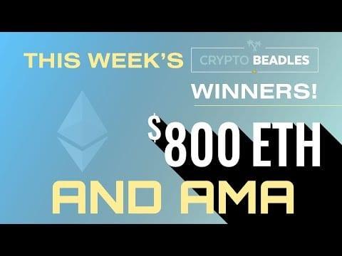 Live $800 #Crypto Giveaways,  Blockchain AMA, 51% attacks, Bitcoin Talk and more!