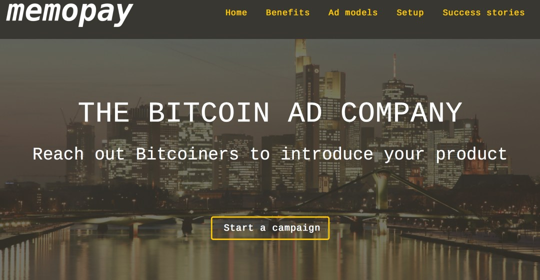 Meet Memopay, the Bitcoin Cash Advertising Model That 'Pays for Attention'