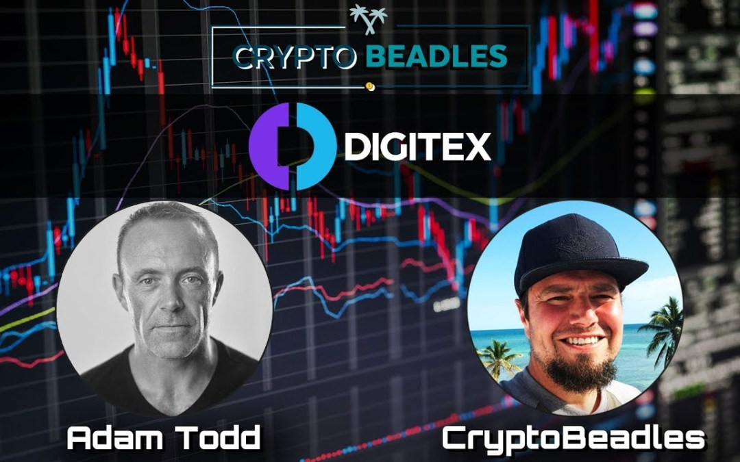 Digitex Futures ⎮DGTX⎮ Crypto and Blockchain chat w/founder Adam Todd