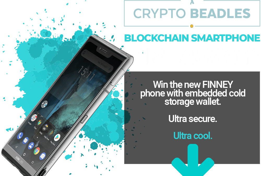CryptoBeadles Holding a FINNEY ™ Phone Giveaway
