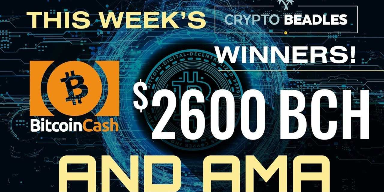 ⎮LIVE Money Mondays⎮1 Months Worth of Giveaways⎮Blockchain and Crypto AMA⎮IOST⎮BCH⎮