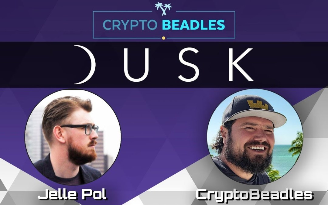 Dusk Network Blockchain and Crypto Update and how getting drunk saved my life