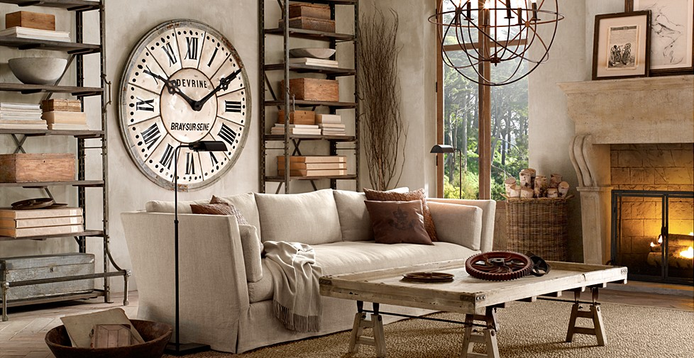 Create a warm industrial living space  AMAZING DESIGN FOR LESS