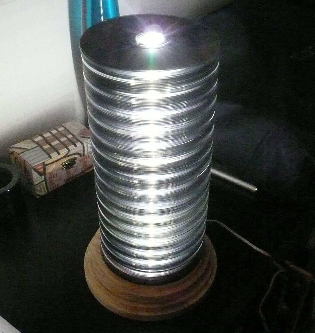 CD stack lamp