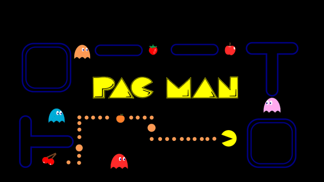 Pac man game home