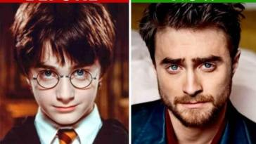 The actors from Harry Potter today, 19 years after the first movie