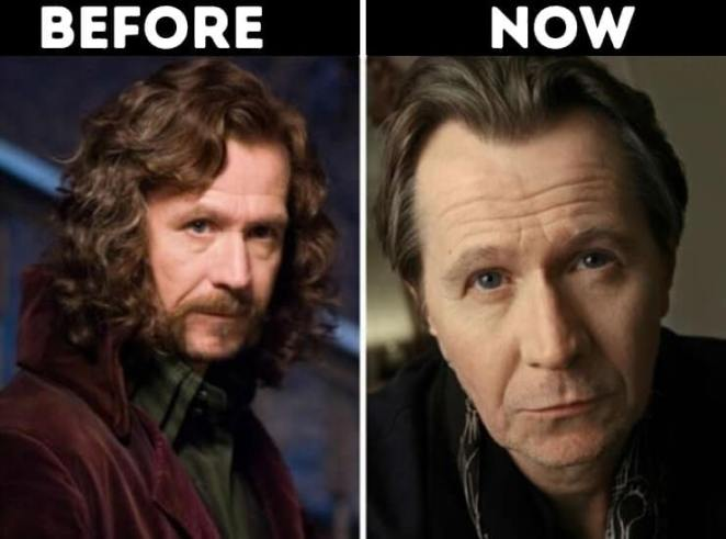 actors from Harry Potter now Sirius Black Played by Gary Oldman