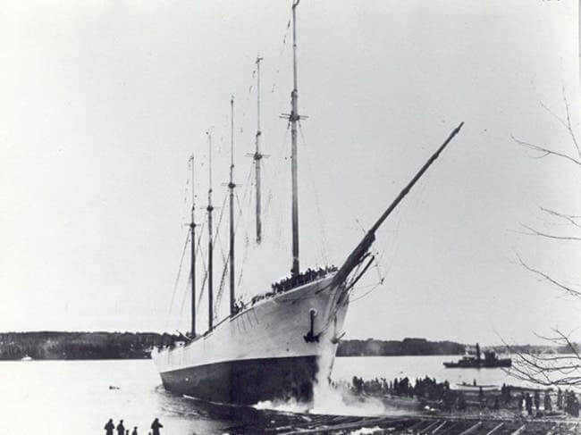 Carroll A Deering the famous Ghost Ship