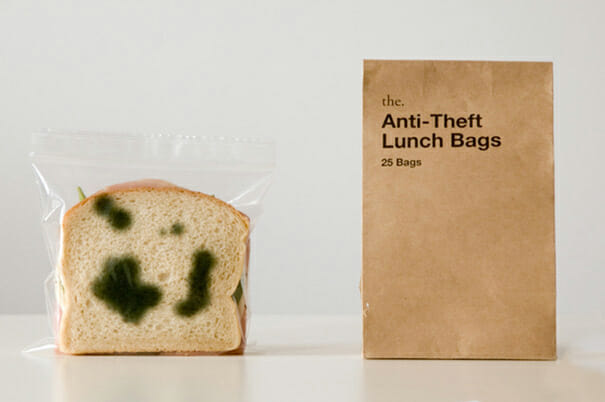 DIY tricks anti theft lunch bags