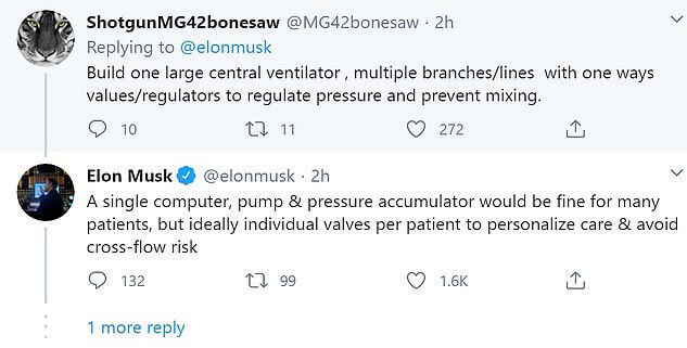 Elon musk tweet on Alain Gauthie tweet thread