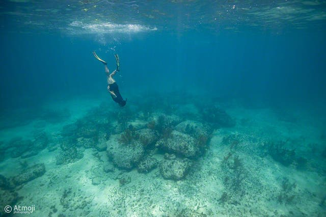 Unexplained Mysteries about Bimini road underwater rock formation