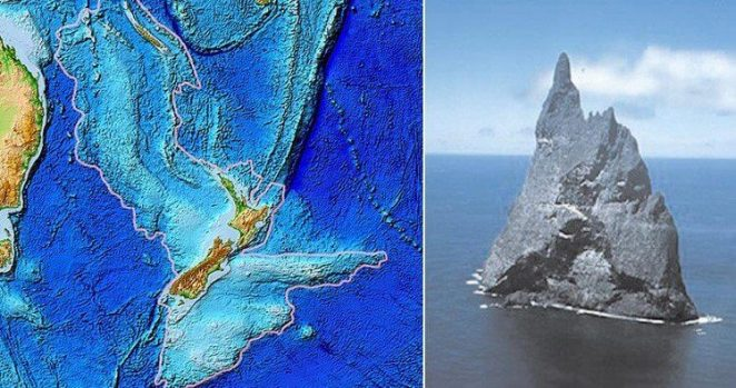 facts about earth has another continent called zealandia