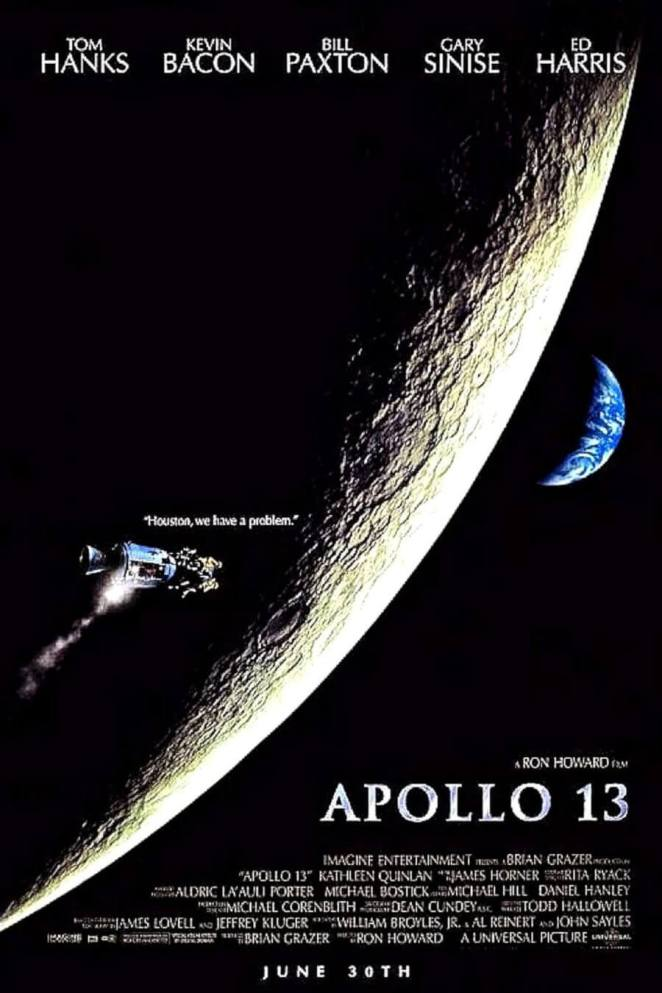Impressively Realistic Space Movie Apollo 13 1995