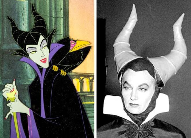 Eleanor Audley not only gave a voice to Maleficent in Sleeping Beauty