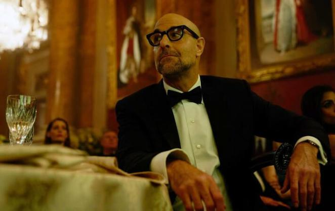 Stanley Tucci Bald Guys Are More Intelligent and Successful recent Scientific Study