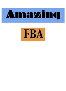 Amazing FBA Facebook Group